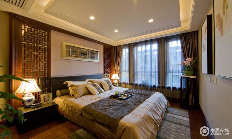中式住宅装修案例 沉稳大气不乏韵味