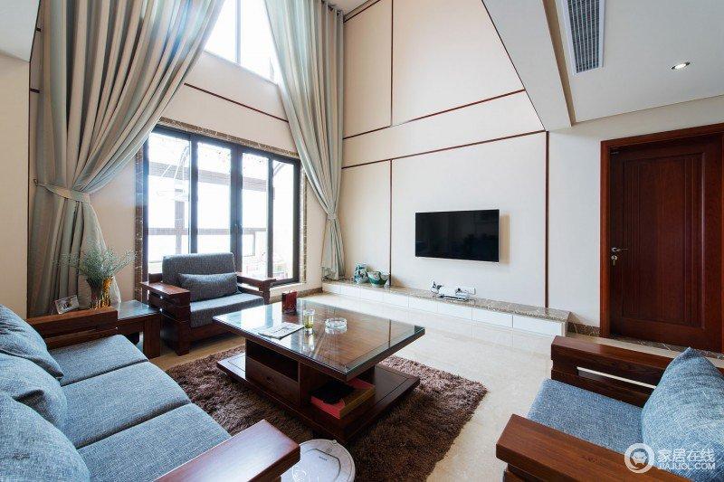 装修图库 现代家庭客厅室内装修效果图片  空间 风格 颜色 相关图片