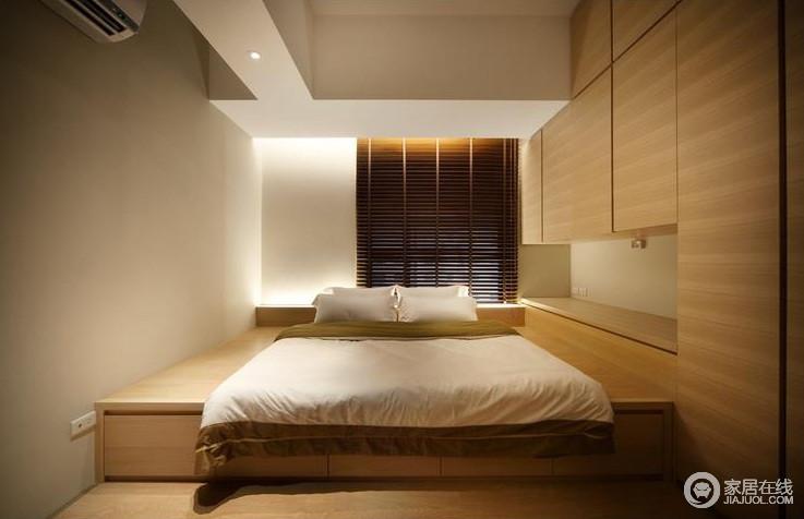 日式卧室室内设计效果图_396053-家居在线装修效果图