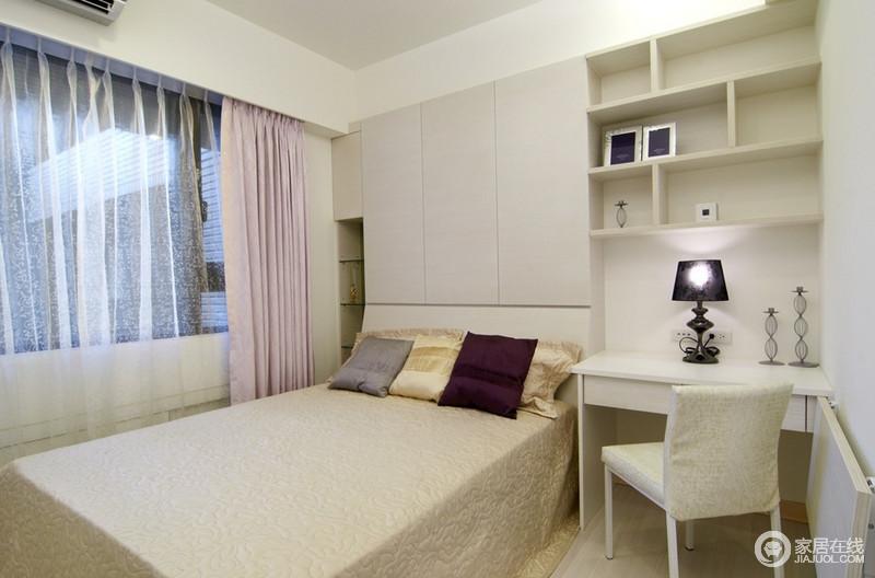 简约卧室家装设计效果图欣赏