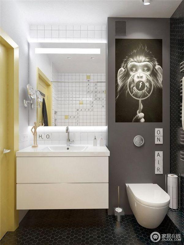 北欧风格创意卫生间装修效果图
