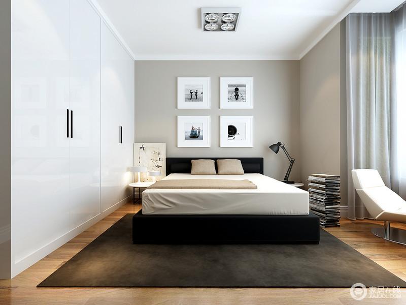 方式中设计师以构建的卧室和素雅的精简来用色温馨,疲劳,让人在宁静之云栖小镇建筑设计图片