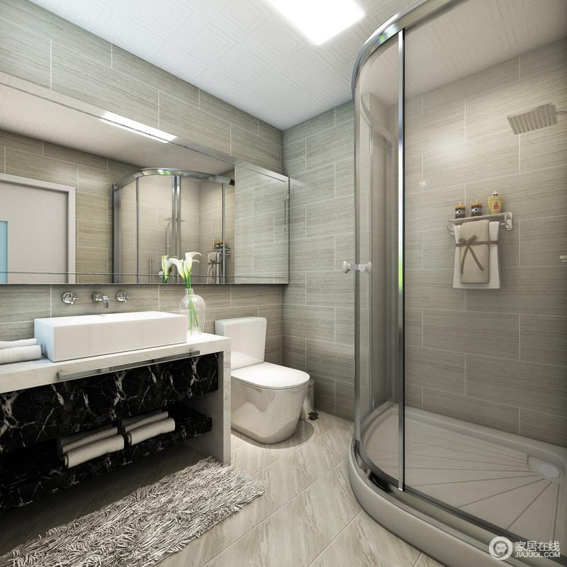 欧式浴缸大理石线条