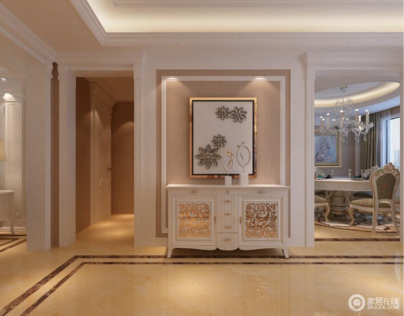 走廊门框造型欧式