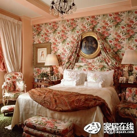 白色欧式风格卧室