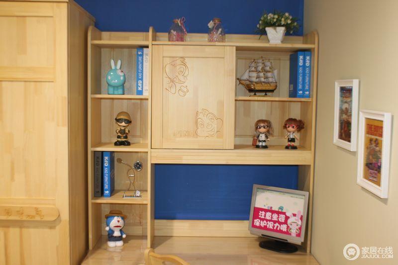 家具儿童家具可爱多 s705转角书台图片图片_家具儿童