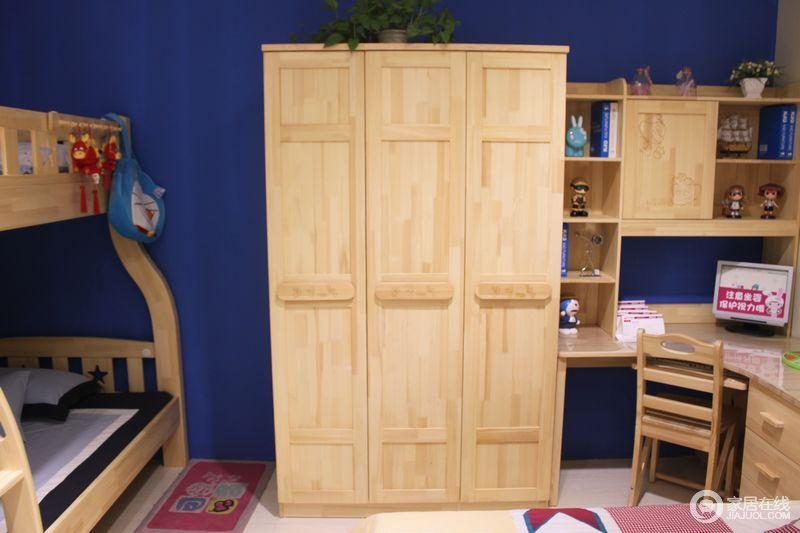 家具儿童家具可爱多 s712三门衣柜图片图片_家具儿童