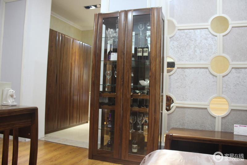 大红鹰家具WJ-011图片酒柜二门喷漆上门家具图片