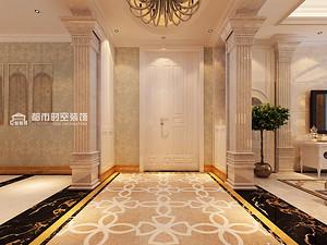 欧式风格走廊万博体育mantbex手机登录效果图