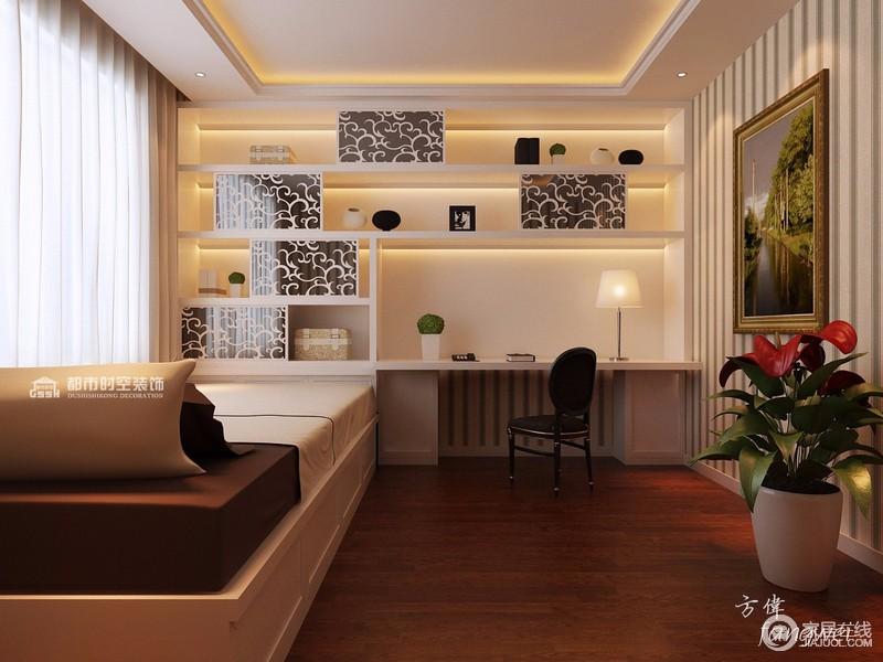 欧式风格小卧室区域