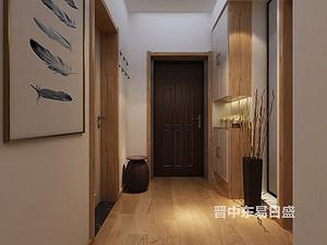 日式风格门厅装修效果图