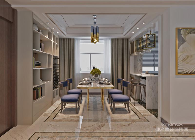 美式风格给人一种简约而不简单的感觉,没有复杂的空间布局,非常符合现代人的品味,不管的从房屋的灯饰,还是地板,没有一个繁琐的设计,给人感觉上去非常温暖、高雅。
