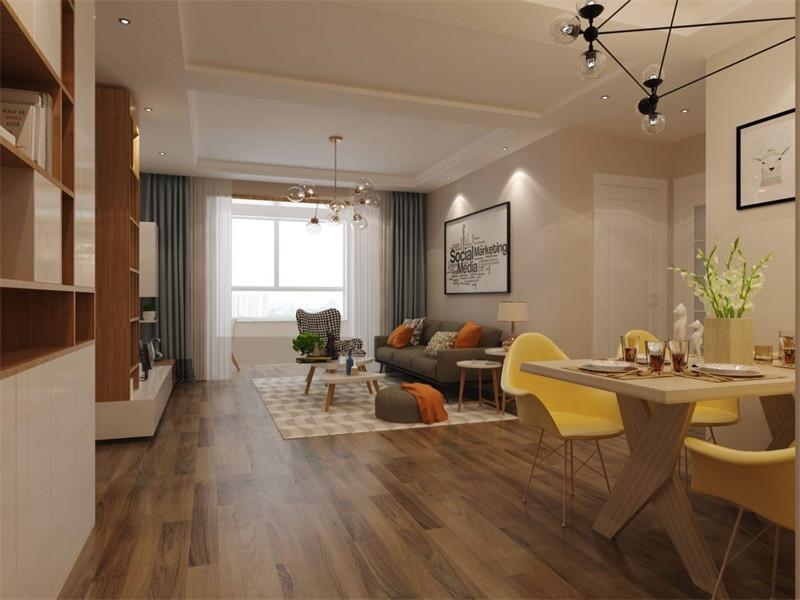现代简约风设计比较注重个性化,为业主量身设计,室内一个看起来简单的角落设计,其实都凝聚着设计师的独具匠心,既美观又实用。