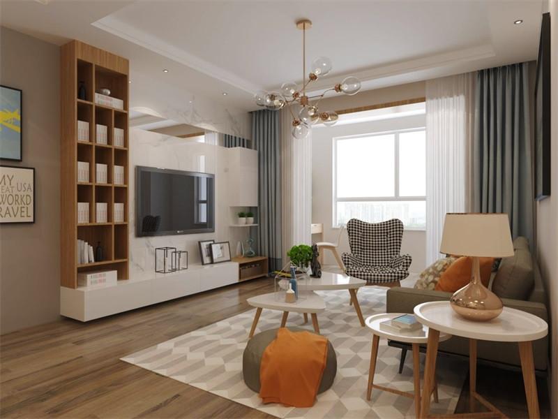 现代简约风比较注重空间的使用功能及收纳功能,废弃繁琐的装饰,室内布置也会按功能区分的原则进行,家具色彩造型非常潮流,以个性化、简单化装修方式打造舒适家居。