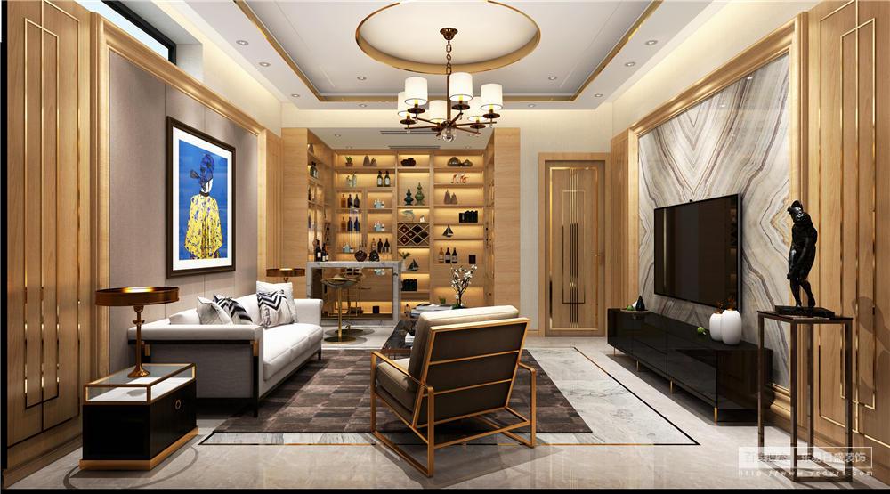 休闲室的设计,简单而简约