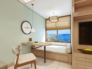 日式风格休闲室装修效果图