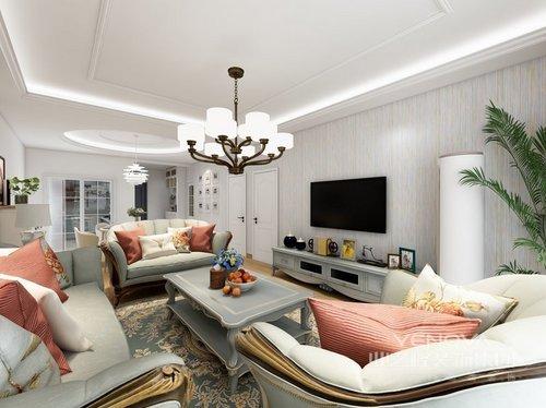 白色的空间里,黑白色瓷砖地板,餐厅和厨房的黑色,绿色背景墙是最好得装饰。 大量的书籍和客厅摆放的吉他减少了空洞的感觉。