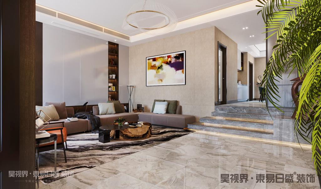 没有过分的装饰,从功能出发,讲究生活的舒适、空间结构的明确美观,强调外观的简洁、大方。