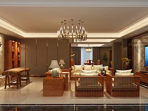 华贵悠然 新中式四居330平米四居室