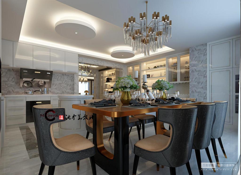 古铜色的餐桌、乳白色的餐厅,一下子让你置身在港式生活当中