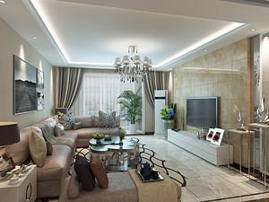鲁能七号院 116平米现代三居116平米三居室