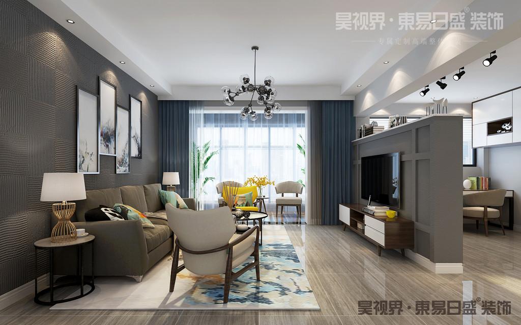 家具在设计上强调功能性与简约线条美,再从自然提取色彩,将户外的景色引入室内,室内室外浑然一体,相得益彰。