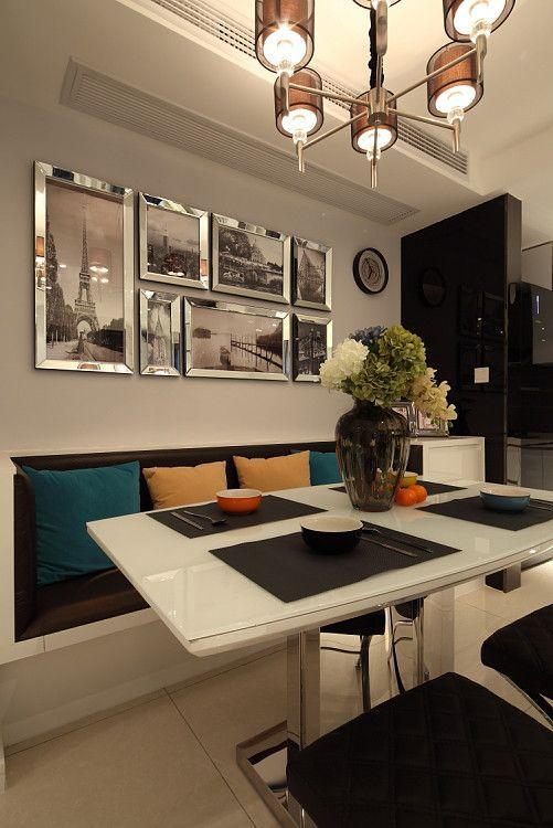 """摒弃了繁琐和奢华,并将不同风格中的优秀元素汇集融合,以舒适机能为导向,强调""""回归自然"""",使居家变得更加轻松、舒适"""