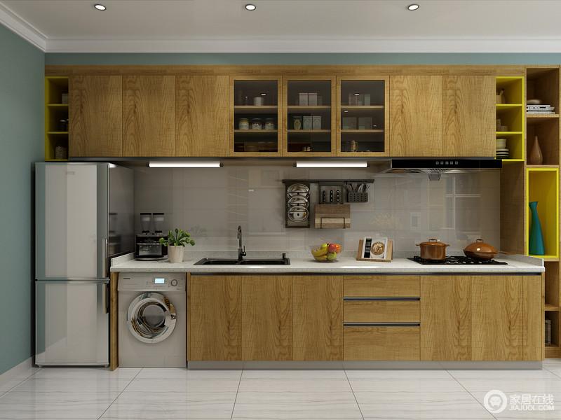 虽然小户型空间小,但基本功能区必须划分得当,需做到麻雀虽小、五脏俱全。合理功能划分的厨房,让生活更加方便、舒适。 小开间的格局无法限制你想要好好生活的心,巧妙的布置自己的小房间,提升居家的幸福感。