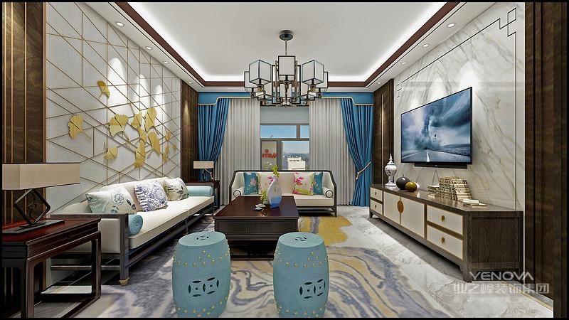 中式风格大部分采用实木家具,崇尚古典韵味,怀旧之情溢于言表。美式风格造型比较随意,线条流畅,主要考虑实用性与舒适性。总而言之,现代美式风格给人的感受为豪华大气,且又拥有着古典气质与浪漫气息。