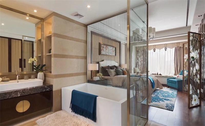 中式风格讲求意境,无论房型大小都给人典雅大气的外观和精密儒雅的内在享受。