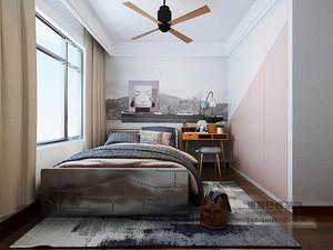 混搭风格卧室装修效果图