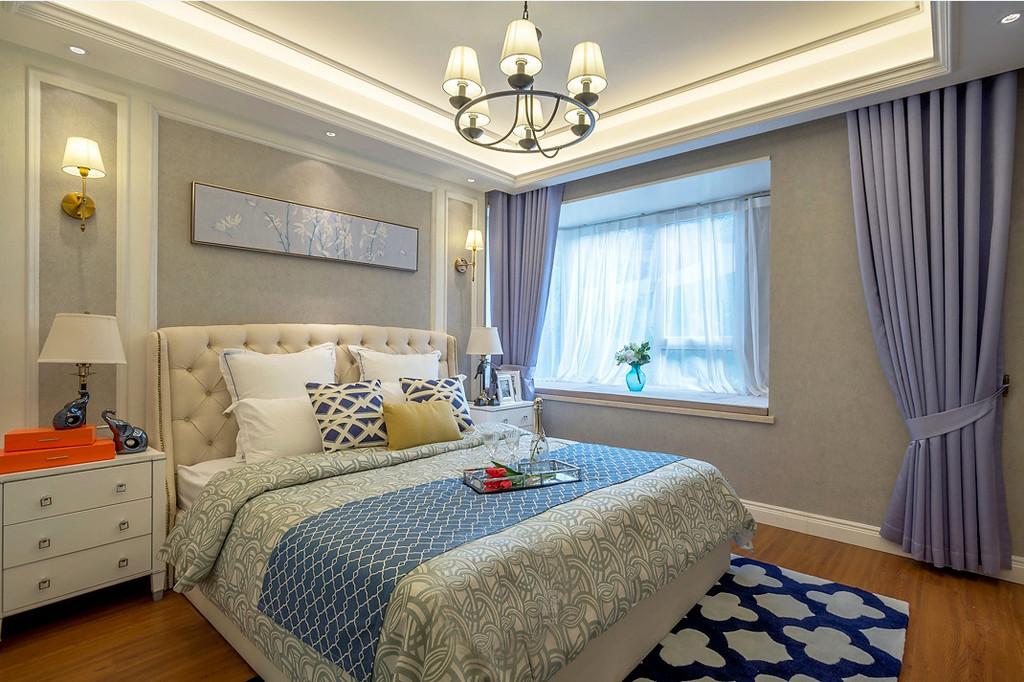 家里采用米地板,尽显家里的温馨暖额,没有过多的装饰,简单宽敞