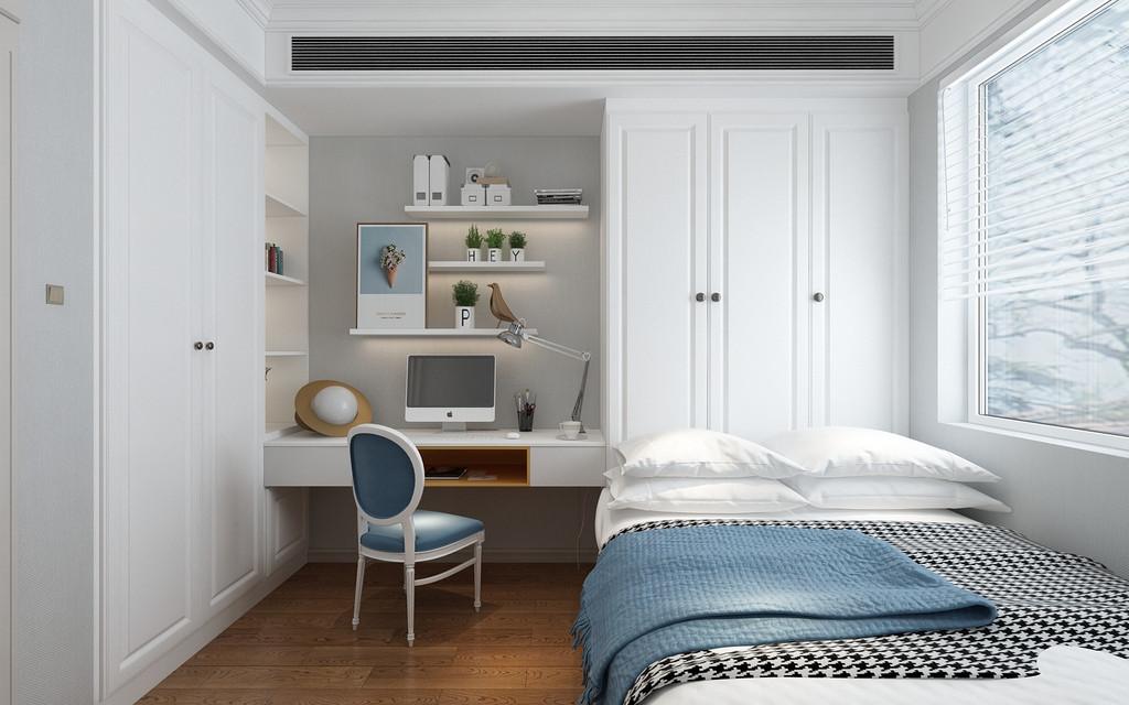 还做了一个榻榻米房间,空间利用的很好。