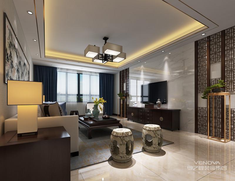 新中式风格的家具搭配以古典家具或现代家具与古典家具相结合,中国古典家具以明清家具为代表,在新中式风格家具配饰上多以线条简练的明式家具为主,比较简约。