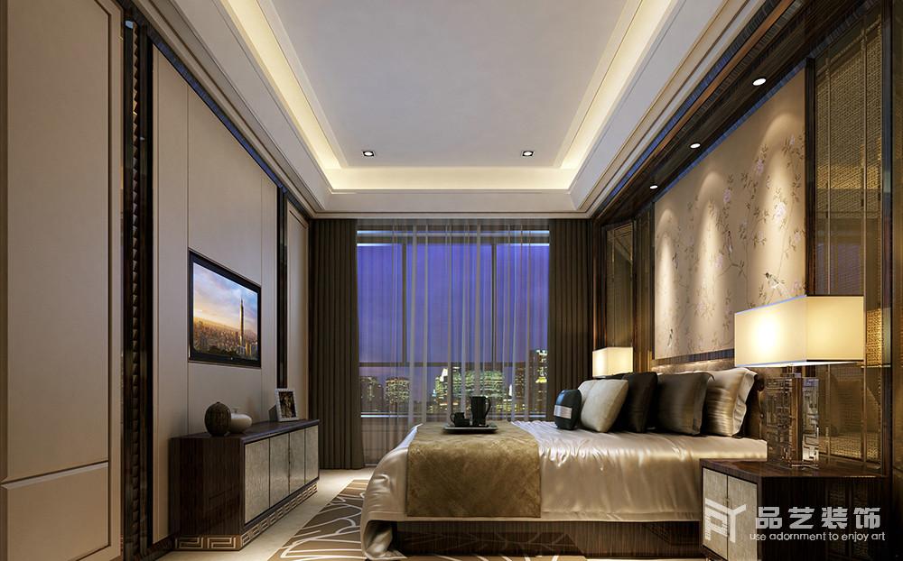 東部現代城四居室-臥室