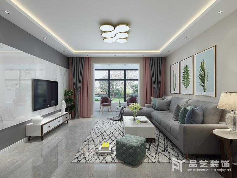 塞納陽光三居室-客廳