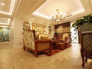 美式風格客廳裝修效果圖