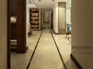新中式风格走廊装修效果图