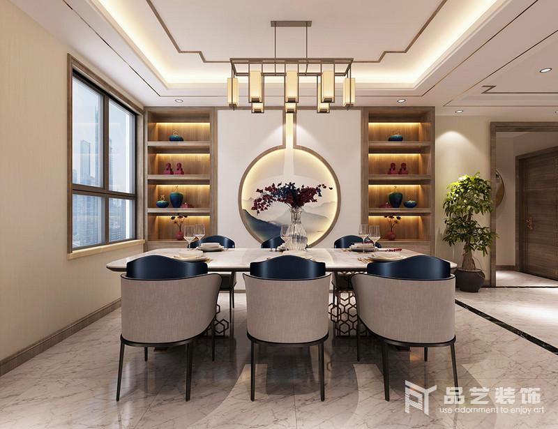 中冶麗苑四居室-餐廳
