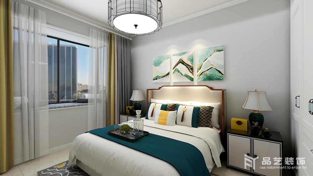 雅园二期三居室-卧室