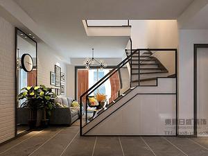 北欧风格走廊装修效果图