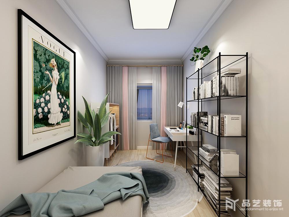 新富家園三居室-書房
