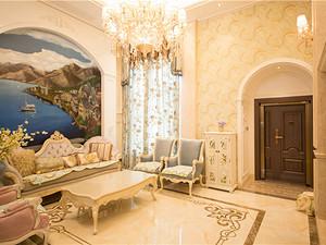 歐式風格客廳裝修效果圖