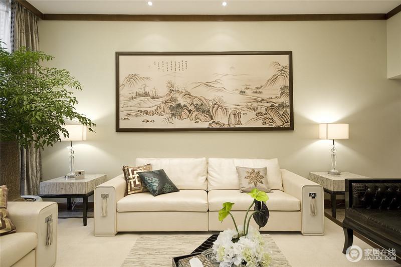 快节奏的生活,使现代风格大行其道,结合现代与中式之感。舒适而明亮。