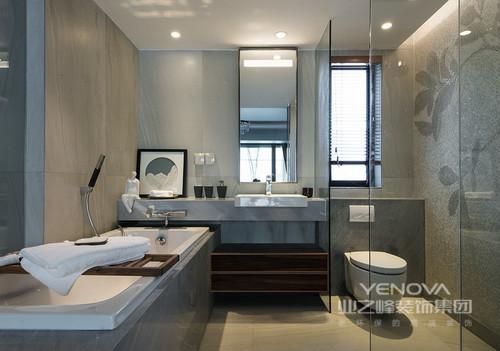 卫生间干湿分离的健康设计让居家更舒心