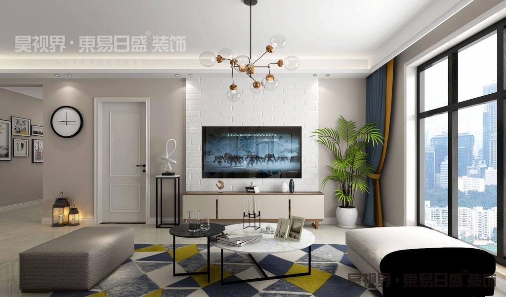 现代简约风格以简洁的视觉效果营造出时尚前卫的感觉。
