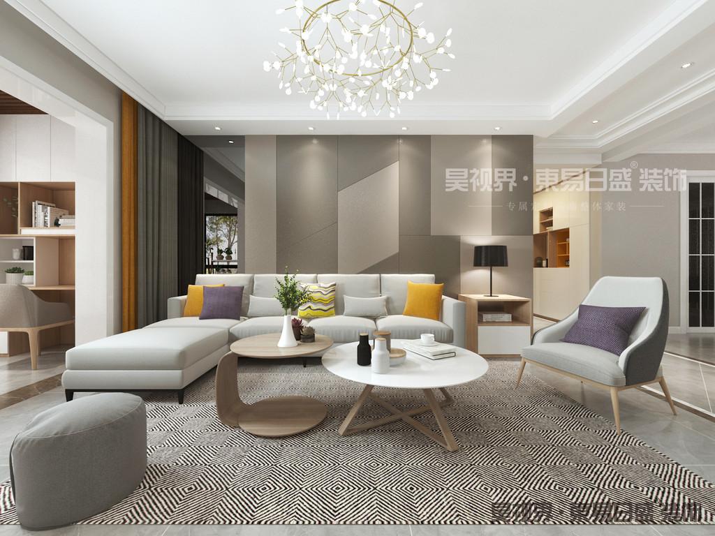 由于线条简单、装饰元素少,现代风格家具需要完美的软装配合,才能显示出美感。