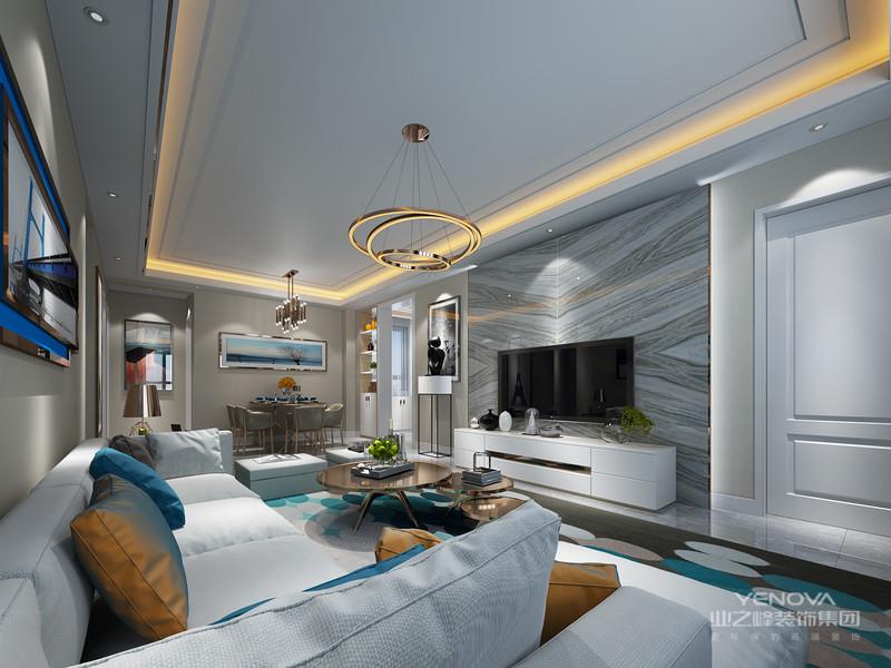 代简约风格在空间的设计上强调的是室内空间开阔的理念,是在中小户型中经常采用的设计风格。这样的设计风格没有过多的装饰物,主要以简单的线条和装饰简洁的造型来体现出现代简约型的设计。与传统的装修风格相比,现代简约风格设计是提出了原有的繁琐、复杂的设计元素,采用留白的设计来营造出空间中的个性与宁静,对于每个室内设计设计师而言,把握好整体房间的空间感和选择营造居室居住环境,其难度比一般意义上的设计更加困难,所以这就是简约却又不简单的现代简约设计的装饰要素。