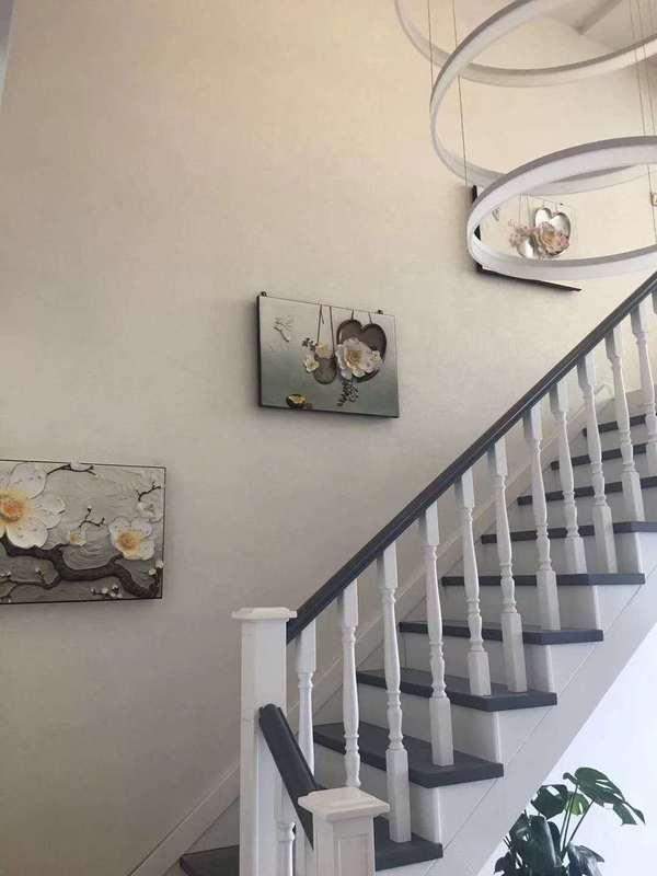 楼梯墙面挂画
