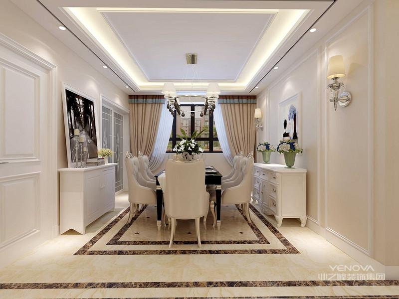 欧式风格不但沿用古典欧式风格不但的主元素,融入了现代的生活的元素。欧式的居室不仅仅有的不只是奢华大气,更多的是惬意以及浪漫。经过完美的典线,精雕细镂的细节的处理,带给家人不尽的舒畅触感,实际上调以及是欧式风格不但的高境地。